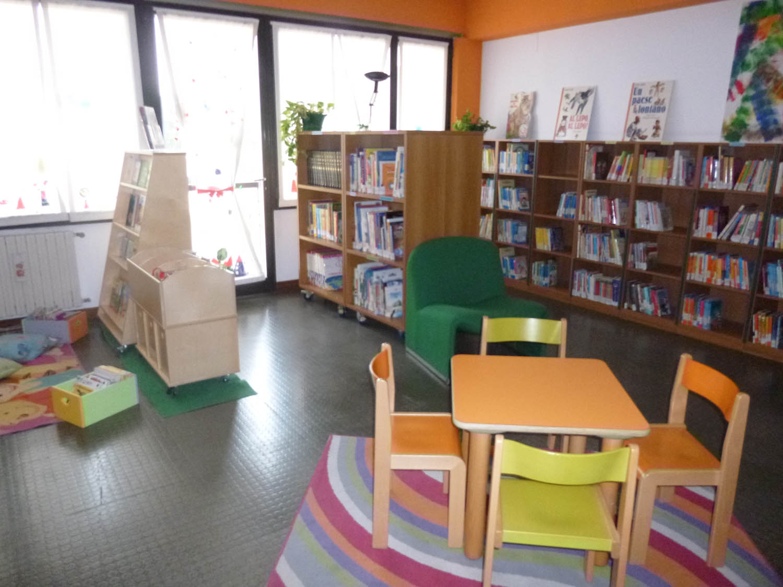 Sala lettura bambini